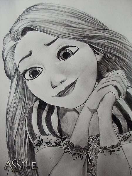 Rapunzel by Assile